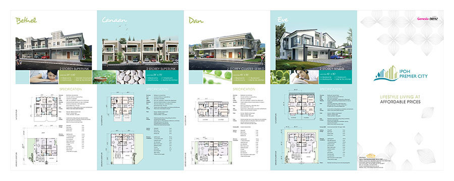 Ipoh Premier City Genesis Brochure - Front Side